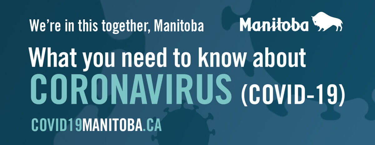 Link to Manitoba Public Information about COVID-19