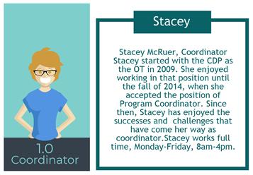 CDP Coordinator Stacey