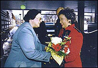 Governor General's visit in 2001